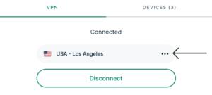 Set VPN Location