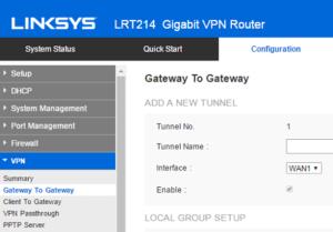Router VPN Feature