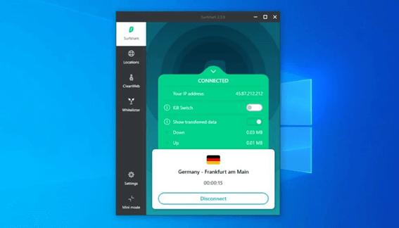 How Does Surfshark VPN Works On Windows?